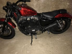 Sacoches Myleatherbikes Harley Sportster Forty Eight (12)
